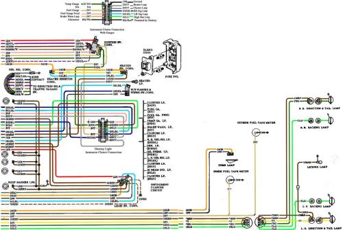 small resolution of wiring diagram 71 chevy truck