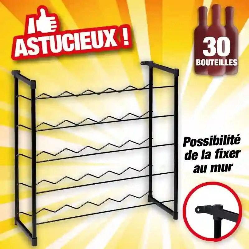 casier range bouteilles en metal d une capacite de 30 bouteilles