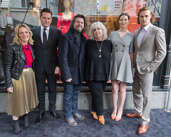 "Saks Fifth Avenue & STARZ Unveil: ""Outlander"" Curated Windows."