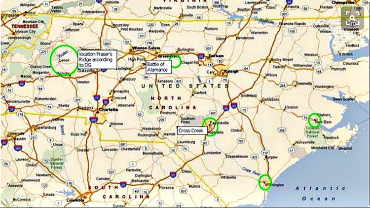 OL locations in NC