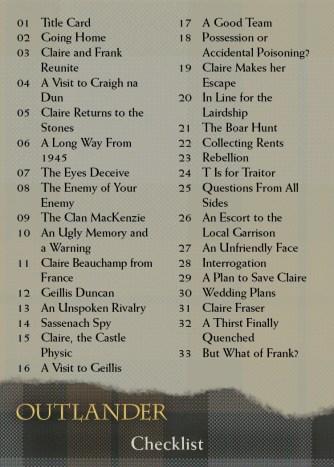 Base 72 - Checklist