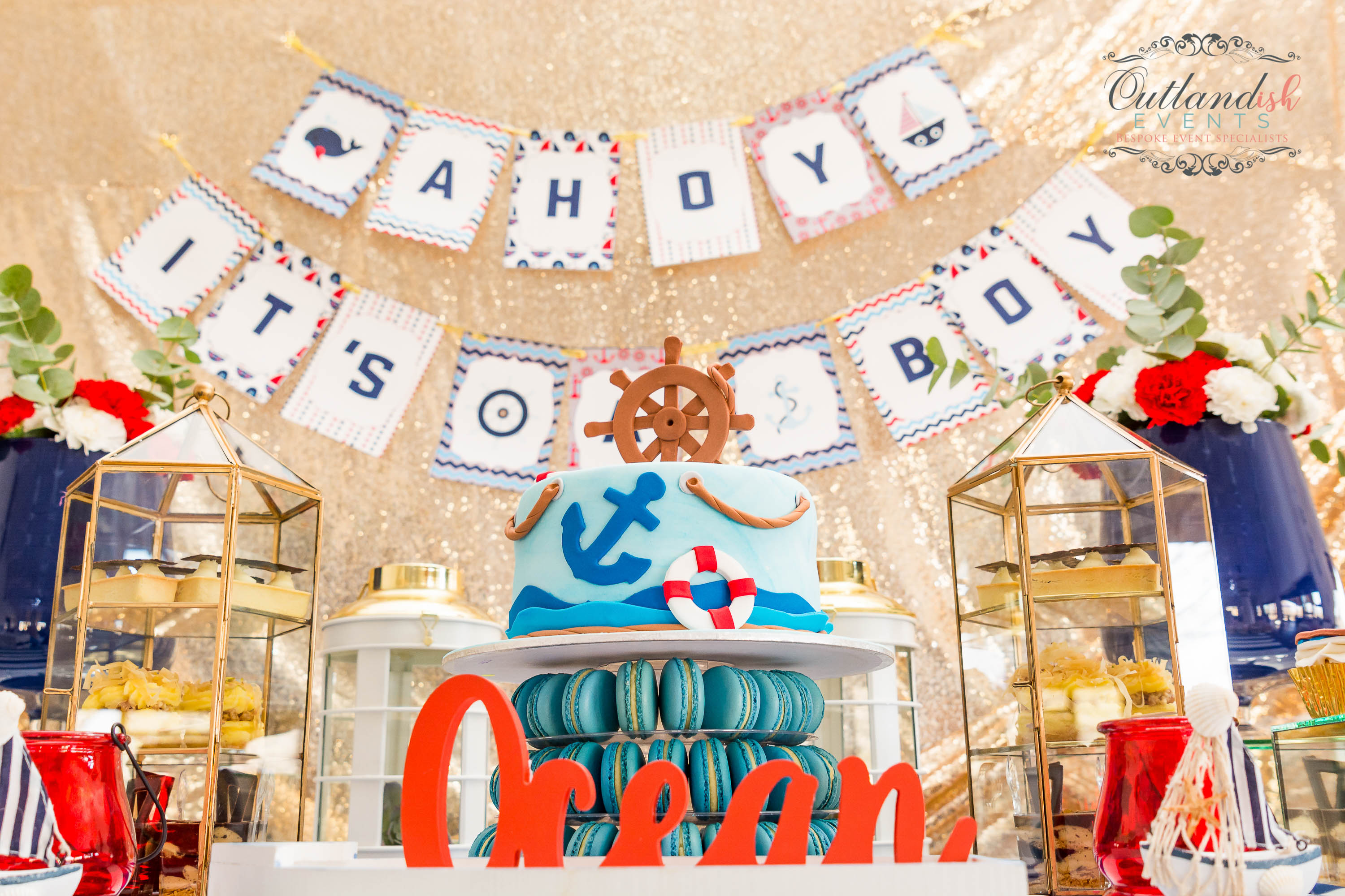 Baby Shower Decor Durban ~ Vintage up and away st birthday party by outlandish