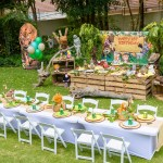 Jungle Themed 1st Birthday Party