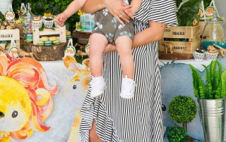 Modern Chic Safari 1st Birthday Party