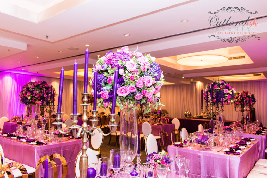 xLuxe 40th Birthday Party | Purple, Pink & Gold