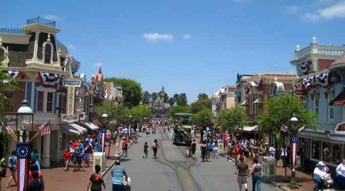 Urban Patterns   Disneyland   Anaheim   California USA