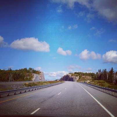 #centralontario the land of rock cuts and open road