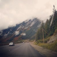 #driving into the #clouds #BritishColumbia