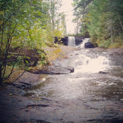 #NorthWesternOntario is full of these gems! {Little Raleigh Falls}