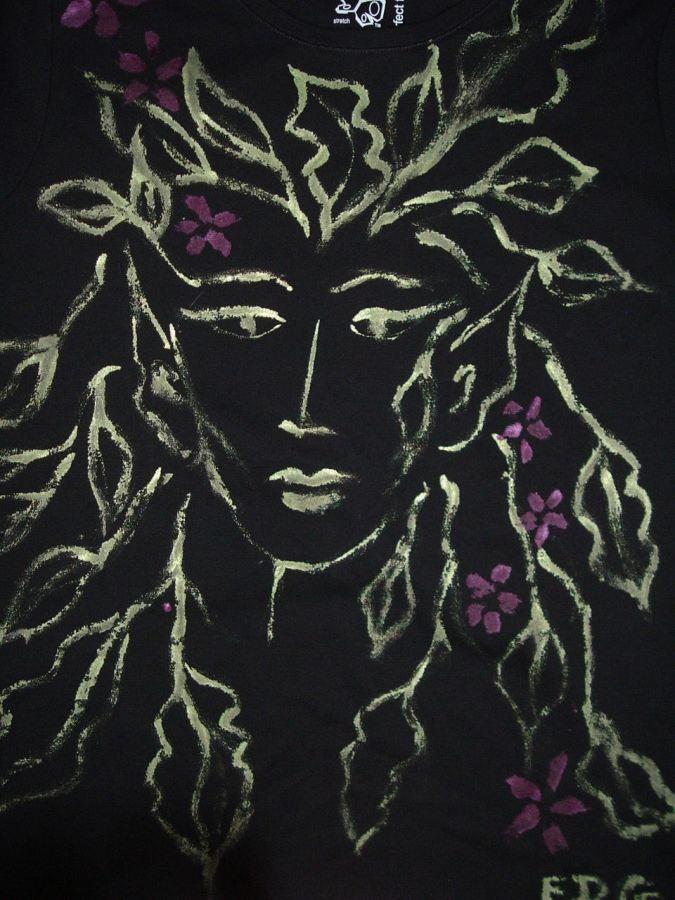 Hand painted Wearable Art by Francesa De Grandis