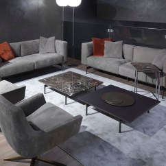 Sofa Expo New York 2017 Discount Sectionals Sofas Divano Design Pelle Nabuk Panelli Legno Marrone L