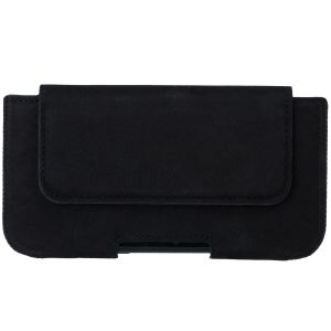BELT CASE NUBUK BLACK