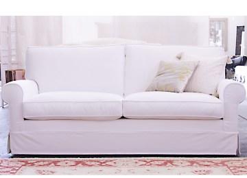 Divano Letto Pelle Bianco | Lampadario Giusto Per Living Bianco