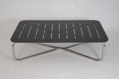 Tavolino Extra (699) design For Use color 100x100 Nero per Zanotta.