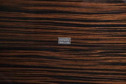 Tavolino Romeo di Emaf Progetti per Zanotta Ebano Lucido 92x154x12