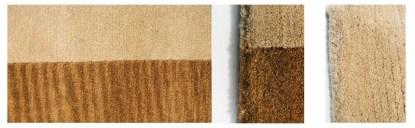 Tappeto di lana 100% modello Twin 170x240