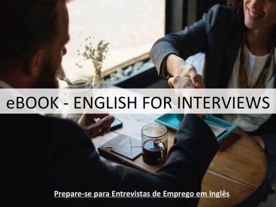 Entrevistas de Emprego em Inglês