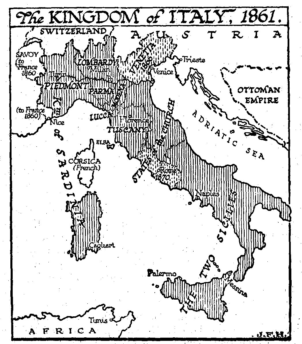 38.8 Europe Between 1848 and 1878 — The Outline of History