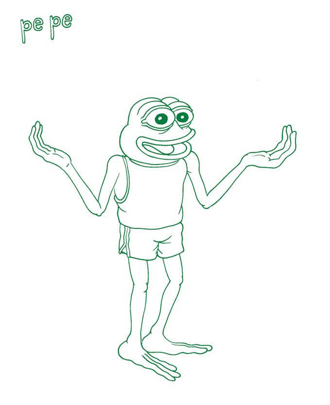 Outline Meme : outline, Pepe's, Creator, Mission, Outline