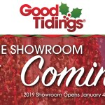 Good Tidings Showroom Opens January 4th!