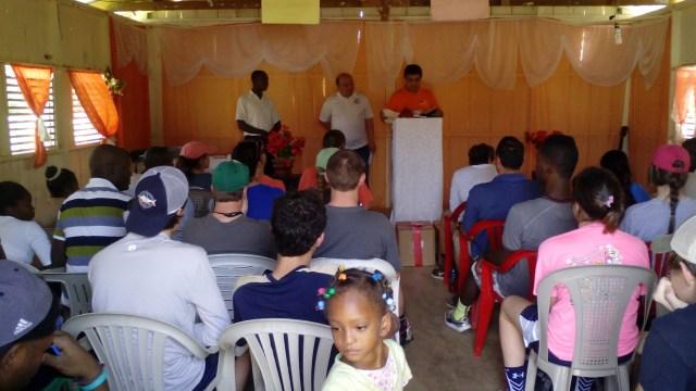 Pastor Patricio San Martin of the Ethnic ministry