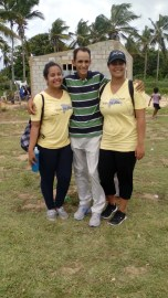 Ruddy Carrera and his missionary friends