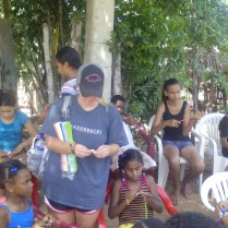 Bible class for children in La Colonia.