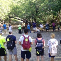 Baptism and Eucharist in the mountains of the Jaragua National Park, day 2.