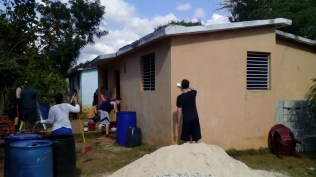 Pastoral house that was painted