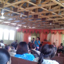 Sister Rafelina Marianny also sang in the Mother Church.