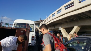 Arrival in Santo Domingo