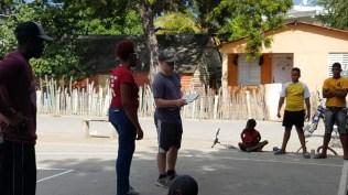 Evangelizing in Jaquimeyes de Barahona with Ismael de la Paz