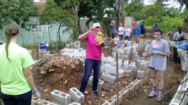 Construction de maisons à pasteur