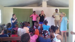 Children Bible Class in Los Cocos.