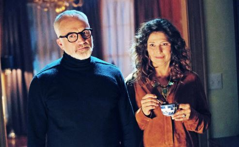 "Photo courtesy NBCUniversal Pasadena resident Bradley Whitford and Catherine Keener play the unsettling parents Dean and Missy Armitage in ""Get Out,"" a comedic horror thriller nomin­ated for best picture at the Academy Awards on March 4."