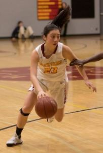 Photo courtesy Eric Danielson Brooke Yasuda is the lone senior on the La Cañada roster this year and is averaging 10 points, eight rebounds and two steals per game so far.