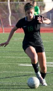 Photo courtesy Eric Danielson Sophie Markarem earned a spot on the Division 5 girls' soccer first team after helping Westridge reach the CIF-SS title match.