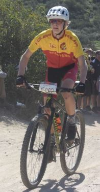Photo courtesy Sharon Grey Philip Klemmer finished 13th in the Vail Lake race to qualify for state.