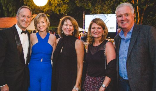 Boys & Girls Club of Pasadena board chair Brian Spaulding and his wife, Debra, were joined by Wendy Taylor Greenleaf and Sue and Paul Miller at the nonprofit's annual fundraiser last year.
