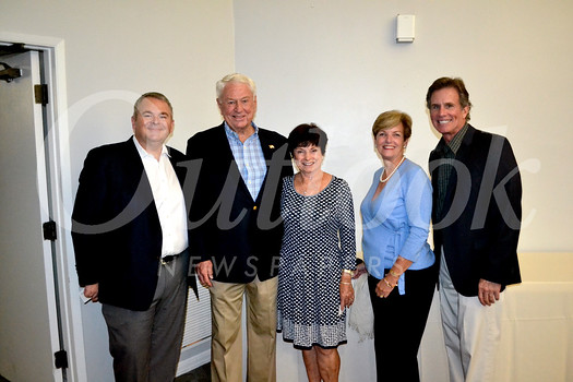Brian Daniels, Fred and Sandy Engler, Laura Olhasso and Sam Longo