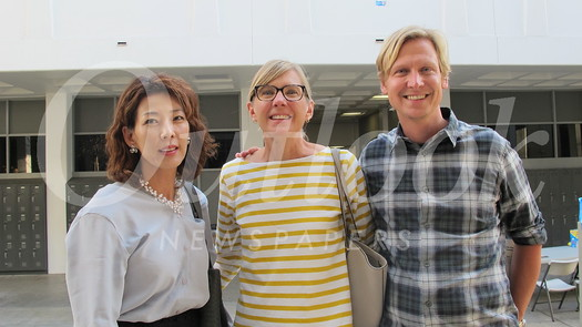 Christina Cho with Andy and Phil Klemmer