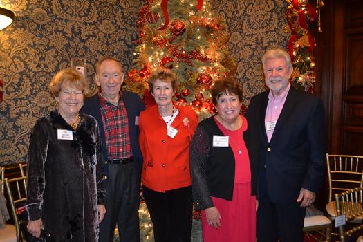 Mary Heartfield, John and Clare Gordon, Dianne Philibosian and Tom Seifert