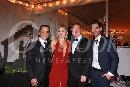 Boys & Girls Club of the Foothills Board Chair Waleed Delawari, event chair Kristy Bowden, CEO John Wilson and Chris Dattola