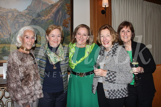 Daisy Sheedy, Nancy Barry, Susie Baggott, Mary Loftus and Bridget Floyd
