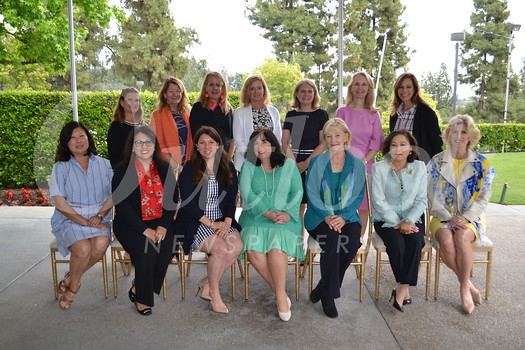 Provisionals Jeanette Park (front row, from left), Carolina Lugo, Katie Litwin, Angela Hawekotte, Susan Colton, Julie Savage and Ann Beeton. Back: Patti Fluhr, Katy Diehl, Michele Prince, Stephanie Bender, Sheridan Link, Jane Laudeman and Moira Love.