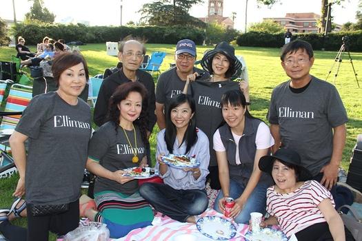Susan Lee (front, from left), Mary Martin, Shuna Zhang, Esther Liu and Jenny Hu. Back: Patrick Chiu, Jameson Lee, Shirley Li and Yung Kao.