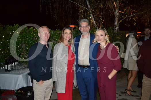 Hosts Michael and Zoe Regan, Kidspace CEO Michael Shanklin and Circle of Friends President Claire Marco