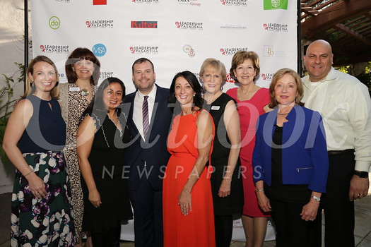Kristen Jones, Heather Backstrom, Carolina Caro, board chair Josh Driskell, board vice chair Carla Buigues, Cindy Bengston, Patti Traglio, Phyllis Lynes and Manuel Carmona