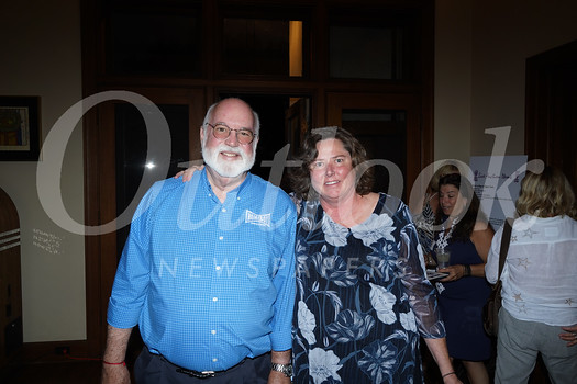 Father Gregory Boyle and Mikala Rahn