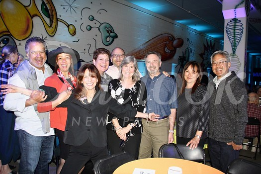 Peter and Coralyn Taylor, Artistic Director Rachael Worby, Irene Sang, Steve Hassan, Jane and Rob Ettinger, and Sarah and John Kobara